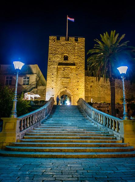 Evening at Greatland Gate - Korcula