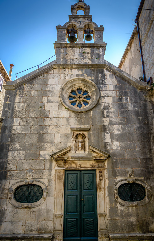 Church Sveti Mihovil - Korcula circa 1408