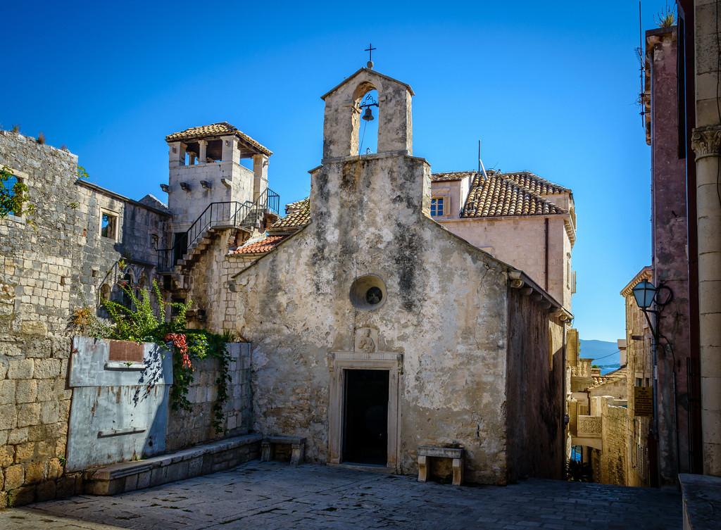Church Sveti Petar - Korcula circa 1300's