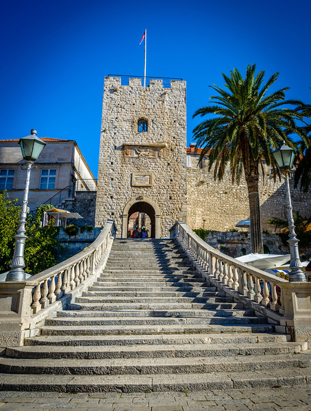 Morning at Greatland Gate - Korcula
