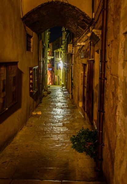 Evening in Old Korcula