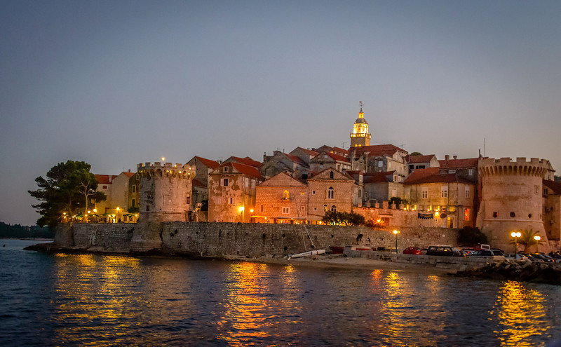 Evening in Korcula
