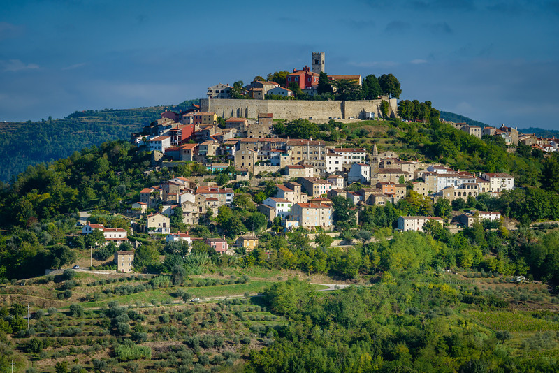 Motovun - Istrian Hill Town