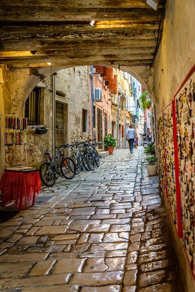 Old Town Street - Rovinj