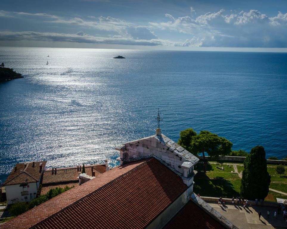 View from 190 Foot Campanile - Church of St. Euphemia