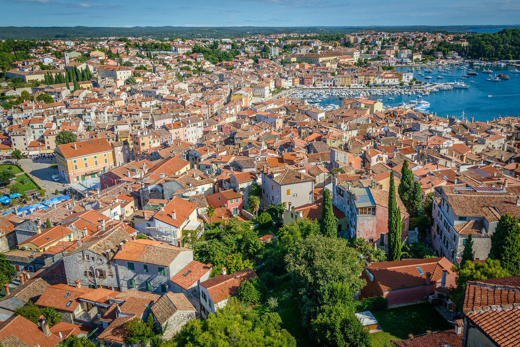 Old Town Rovinj and Harbor