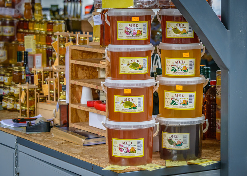 Fresh Honey in Market