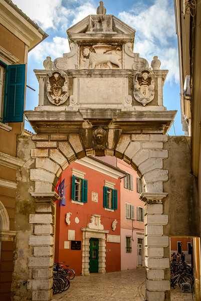 Balbi Arch - Gate to the Old Town - Rovinj