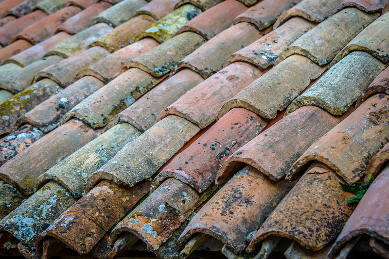 Village Roof Tiles - Motovun