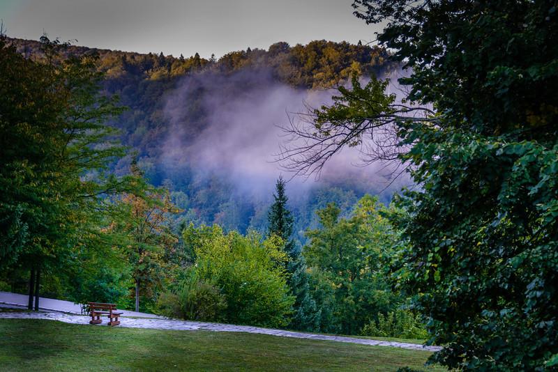 Early Morning Fog - Plitvice Park