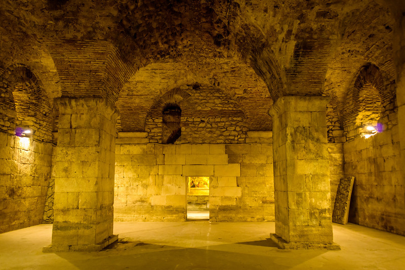 Diocletian's Cellars (Podromi) - Circa 209 ACE
