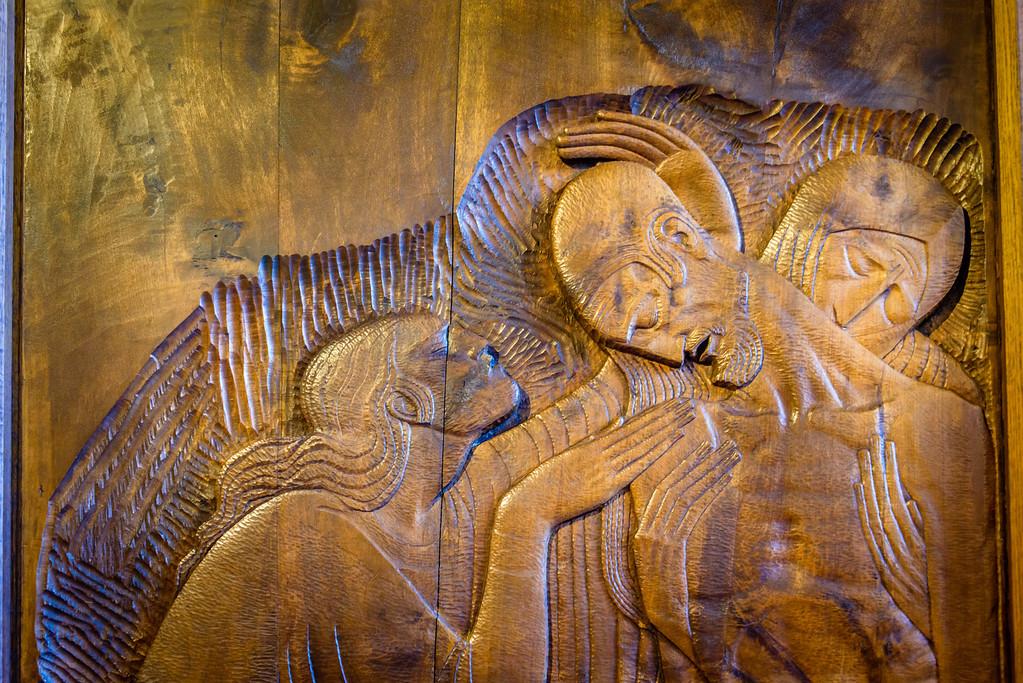 Wooden Relief