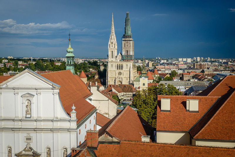 Cathedral From Burglars Tower