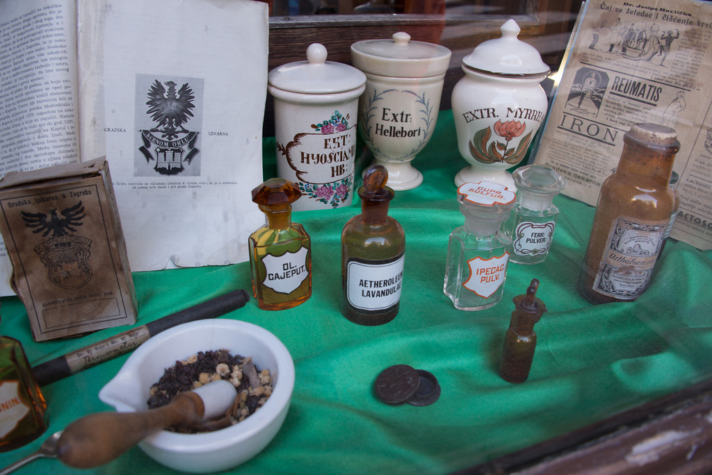 History of Pharmacy exhibit
