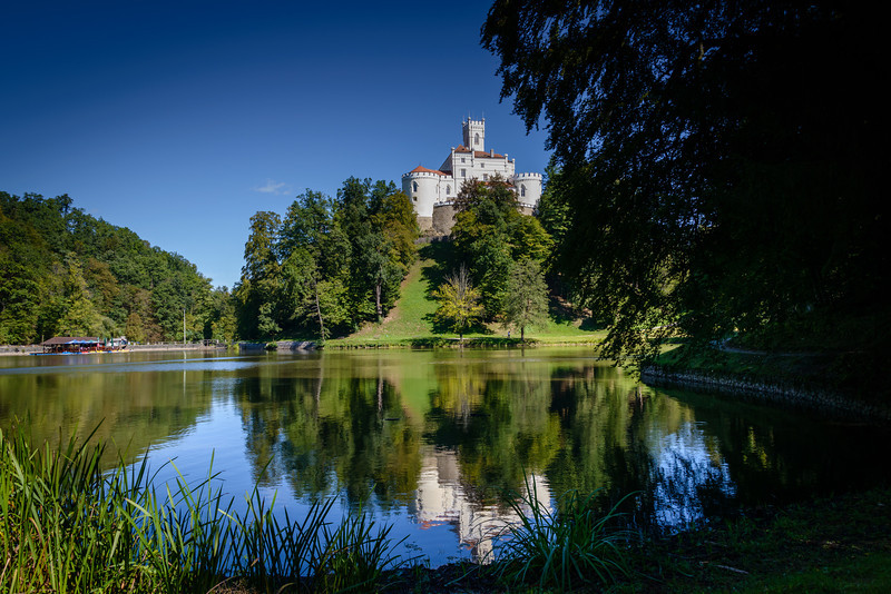 Trakoscan Castle and gardens