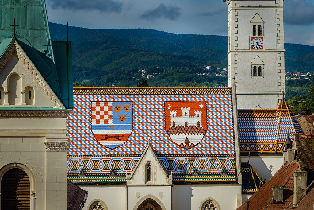 Tile Roof of St. Marks