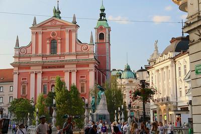 Prešernov Trg (Square ) - Ljubljana