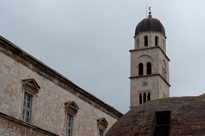 The City Bell Tower in Dubrovnik, Croatia