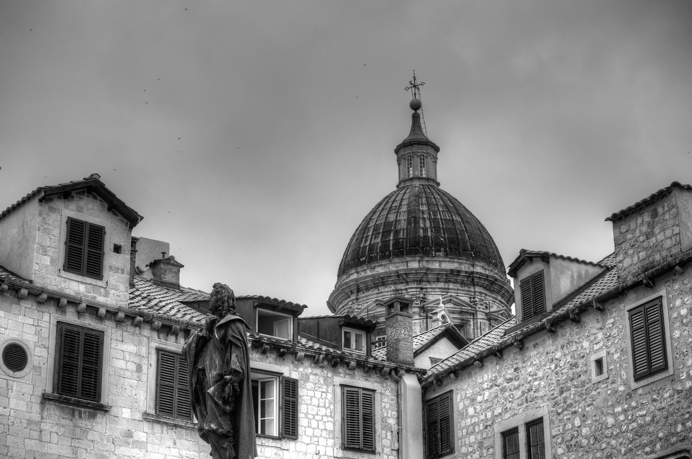 Cathedral of the Assumption in Dubrovnik, Croatia