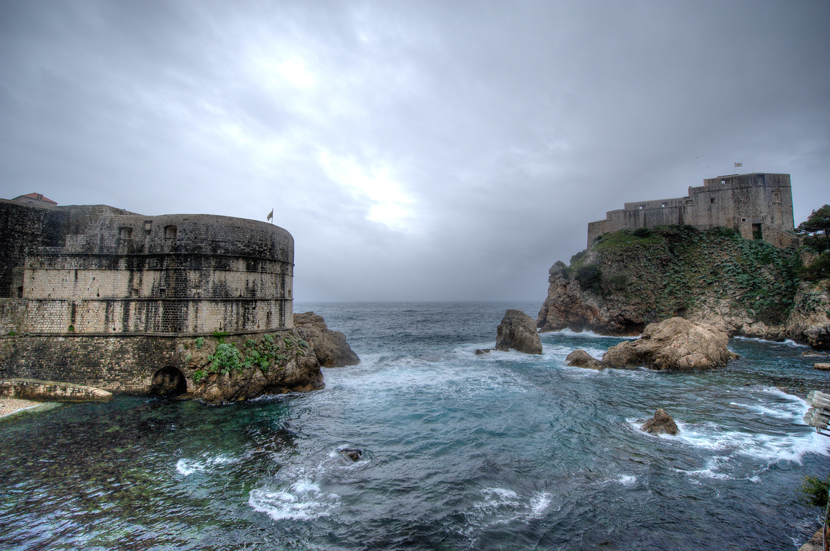 Forts Bokar and Lovrijenac in Dubrovnik, Croatia