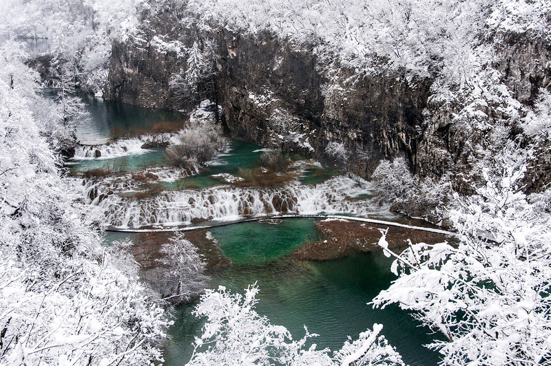 The beauty of Plitvice National Park, Croatia