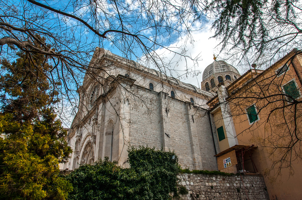 The Cathedral of St James in Šibenik