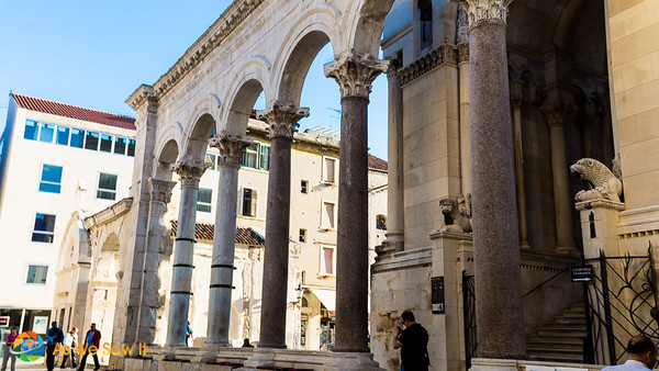 Peristyle, Diocletian's Palace