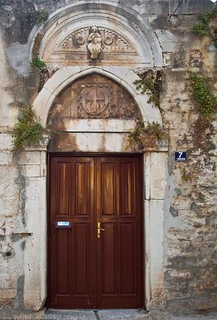 Split. Detail of a building