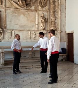 Trogir. Dalmatian traditional singers