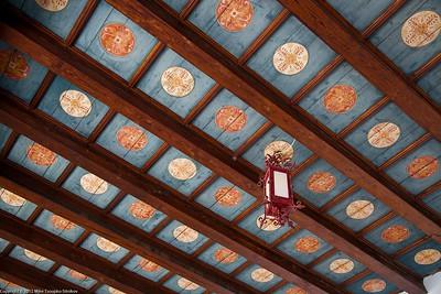 Trogir. Detail of a ceiling