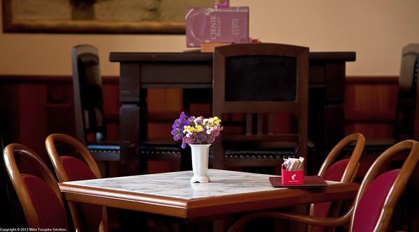 Split. Inside the Luxor cafe