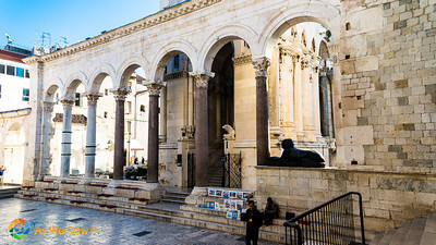 Peristyle, part of Diocletian's Palace