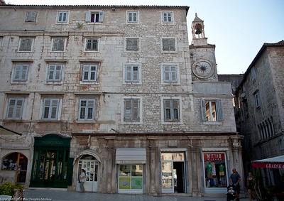 Split. A street view