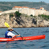 kayaking around Dubrovnik