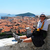 The best portrait of the trip - on the fort walls of Dubrovnik