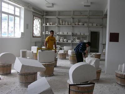 stone workers school in Puscisca