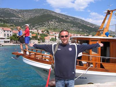 our ferry to Brac