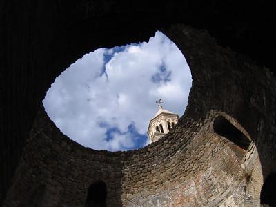 broken dome in old town split
