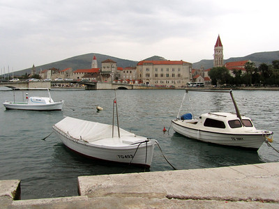 Trogir harbor views