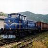 2041032 shunts behind Ploče station during September 2005.