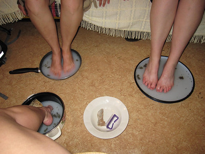 Home-pedicures for our aching feet