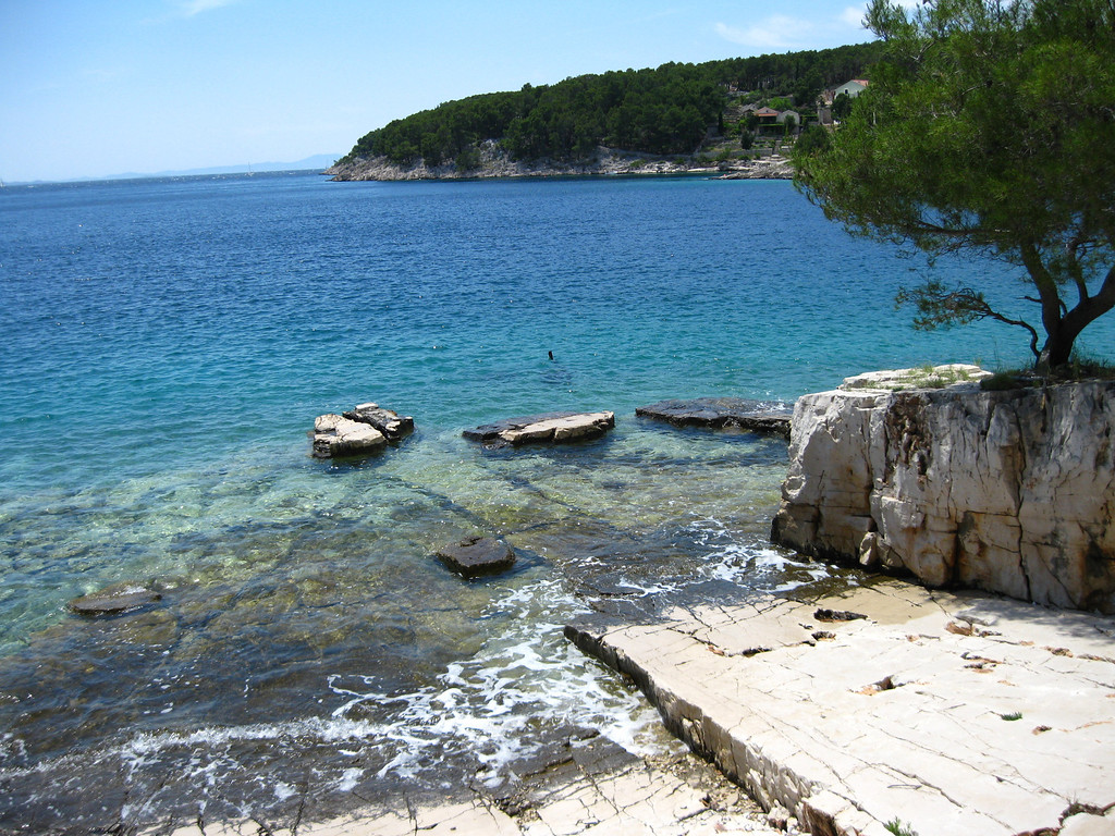 turquoise waters of Adriatic