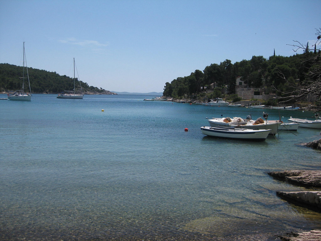 beach on brac island