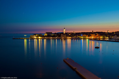 Rab-croatia-sunset