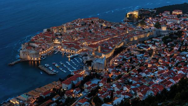 Dubrovnik before sunrise