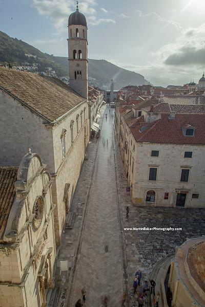 Placa (Stradun), Old Town, Dubrovnik, Croatia.