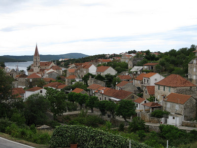 Milna, Croatia on the island of Brac