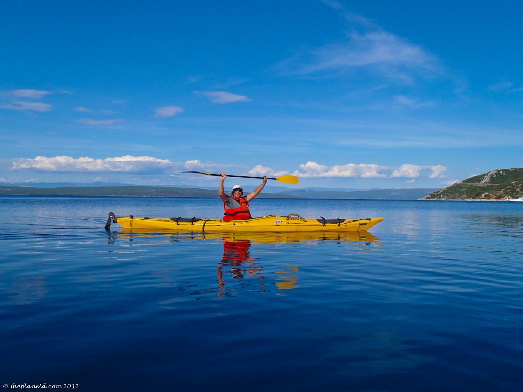 Dave of Canada's Adventure Couple on Adriatic Sea