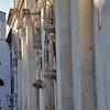 Šibenik - Eglise Sainte-Barbara et statues de la cathédrale Saint-Jacques