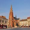 Osijek - Place Ante Starcević - Eglise Saint-Pierre-et-Paul